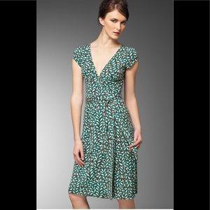 DVF Kye wrap silk dress 4